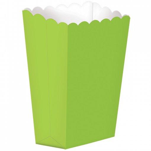 5 Caixas de Pipocas Verde Lima