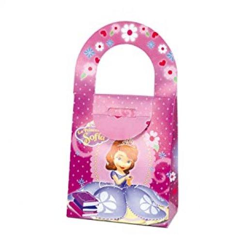 4 Caixas Maletinha Princesa Sofia 14cm x 16cm