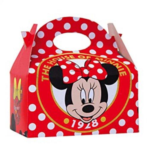 4 Caixas Box Minnie Vermelha