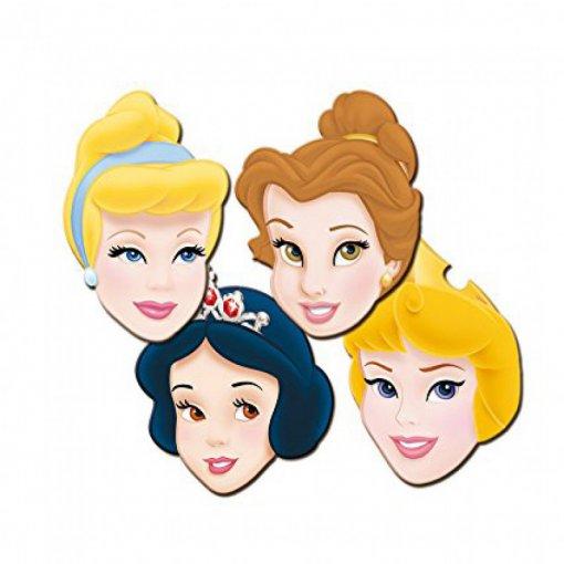 6 Máscaras Princesas Disney