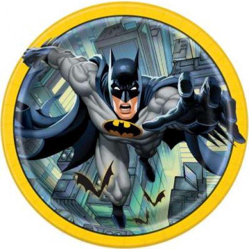 8 Pratos Batman 22cm
