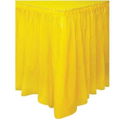 Saia de Mesa Amarela 74cm x 4.27 cm