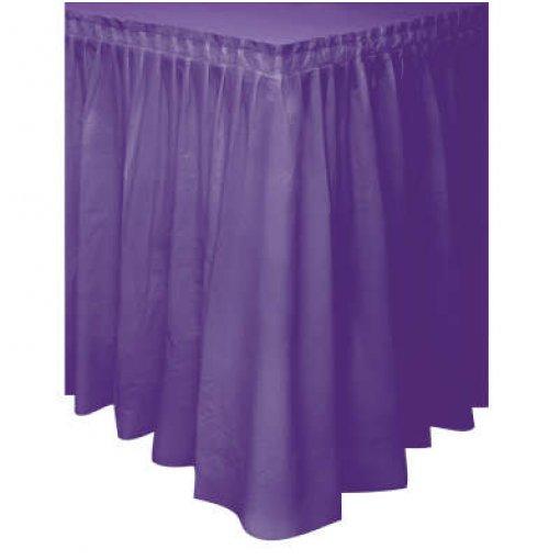 Saia de Mesa Violeta 74cm x 4.27 cm