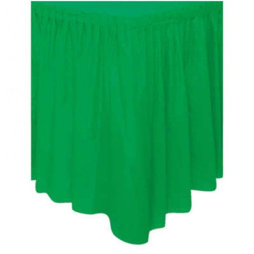 Saia de Mesa Verde Escuro 74cm x 4.27 cm