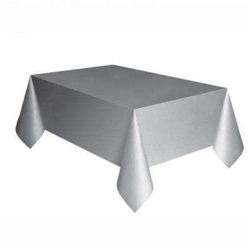 Toalha de Mesa Prata 1.37cm x 2.74 cm