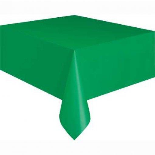 Toalha de Mesa Verde Escuro 1.37cm x 2.74 cm