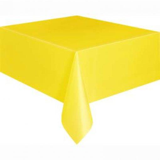 Toalha de Mesa Amarela 1.37cm x 2.74 cm