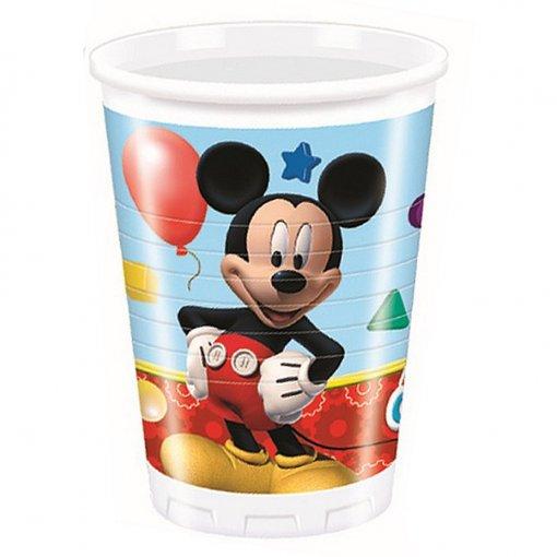 8 Copos Mickey 200ml