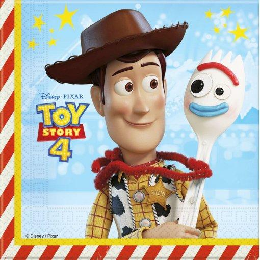 20 Guardanapos Toy Story 33cm x 33cm