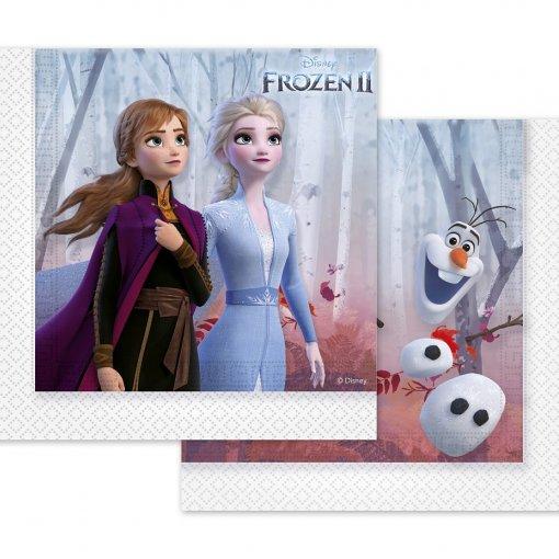 20 Guardanapos Frozen 2 33cm x 33cm