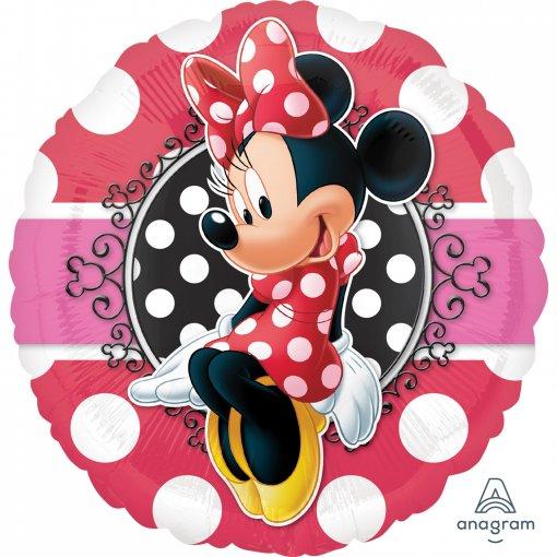 Balão Foil Minnie Vermelha 43cm