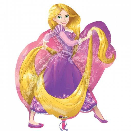 Balão Super Shape Princesa Rapunzel