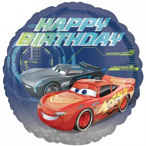 Balão Foil Cars 43cm