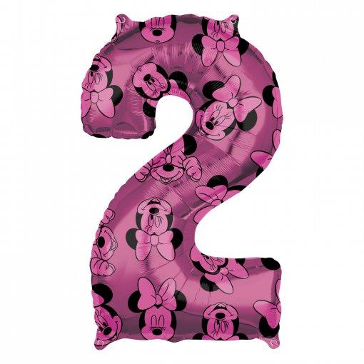 Balão Foil 2 Minnie Rosa 66cm