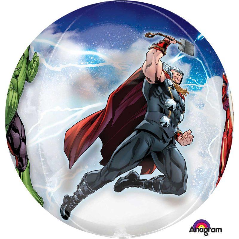 Balão Orbz 4-sided Avengers