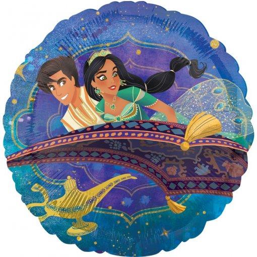Balão Foil Aladino Disney 43cm 2-sided