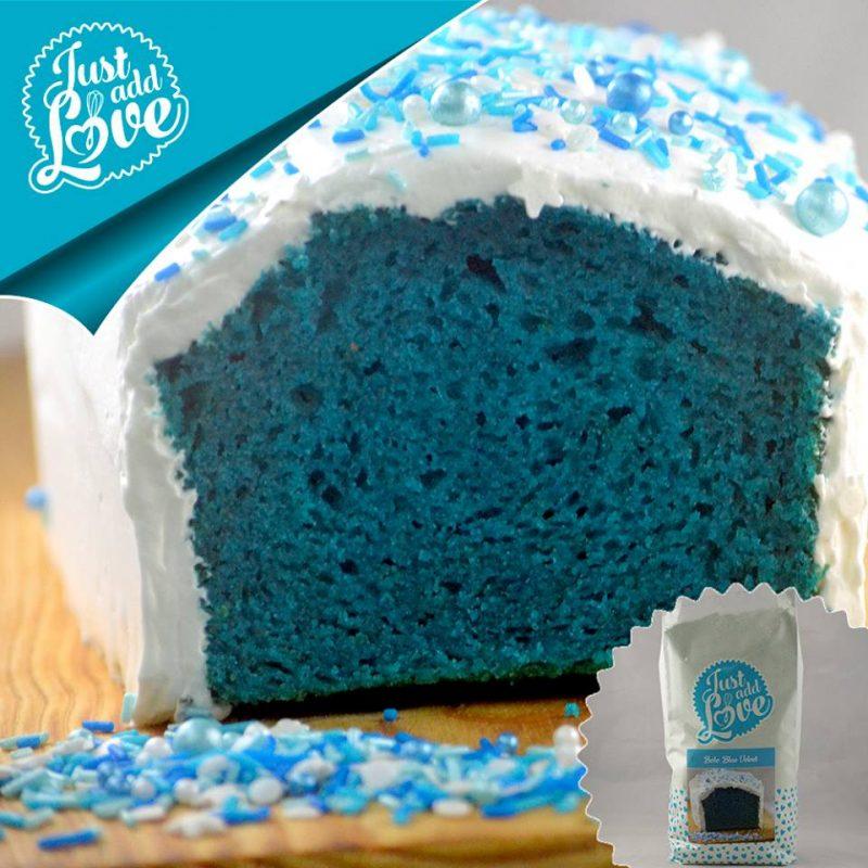 Preparado para bolo Blue Velvet 500g