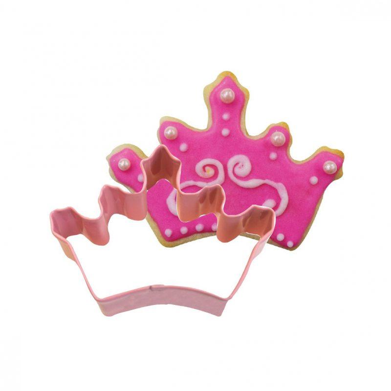 Cortante para Bolacha Coroa Princesa