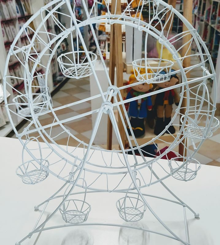 Roda Gigante Decorativa para docinhos 27x25x35cm