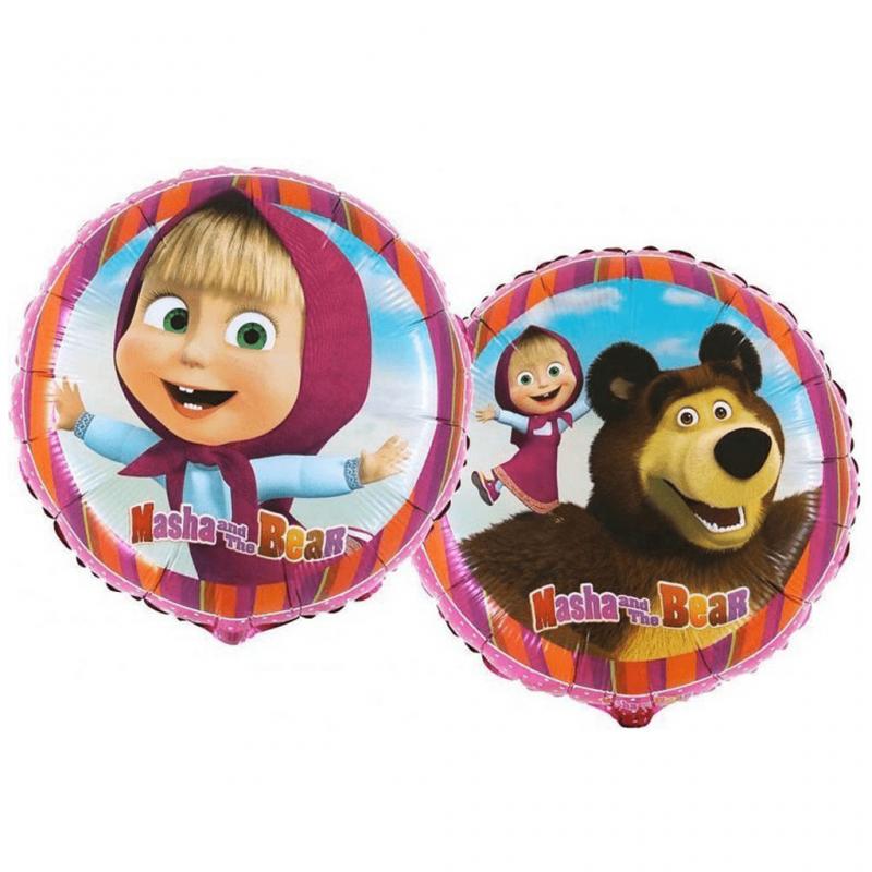 Balão Foil Masha e o Urso 43cm