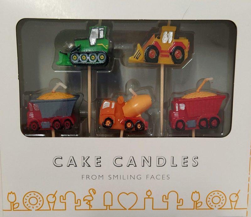 Conjunto de Velas Brinquedos 5 unidades