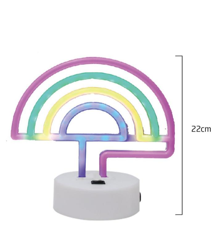 Arco Iris Decorativo em Led