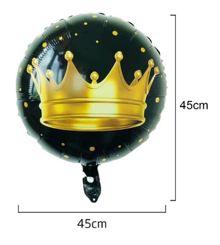 Balão Alumínio Coroa
