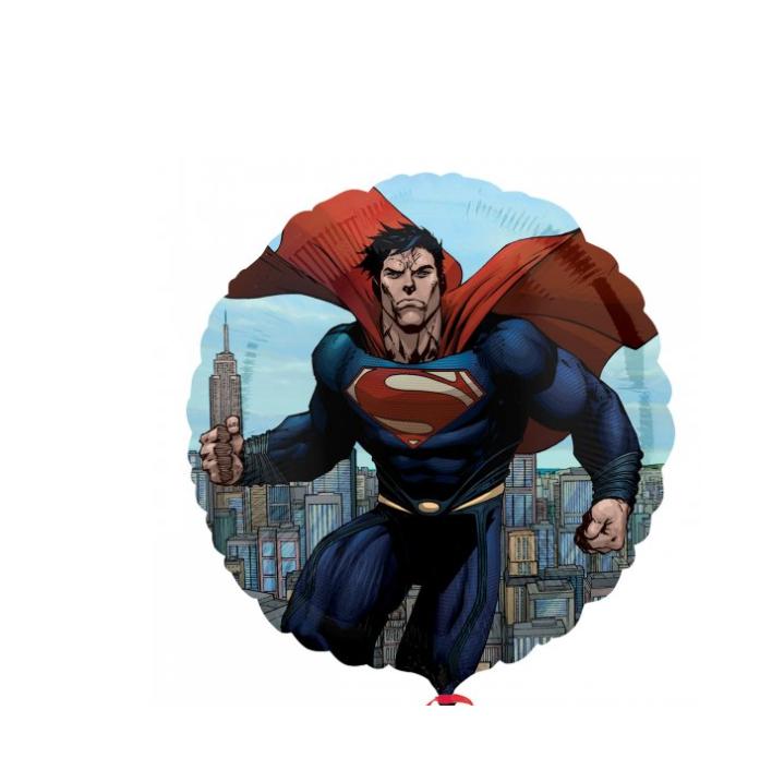 Balão Foil Super Man 43cm