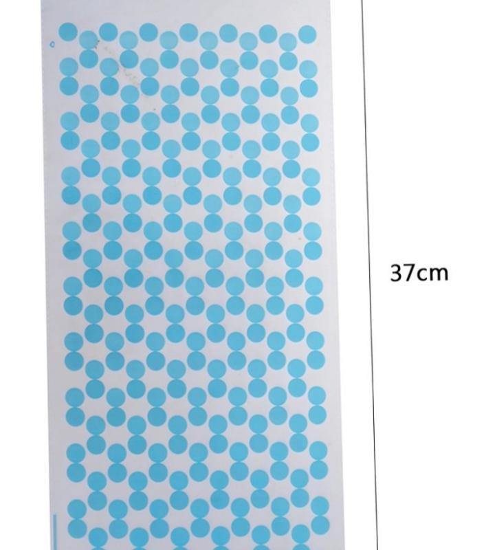 12 Sacos Azul de Bolinhas para Prenda