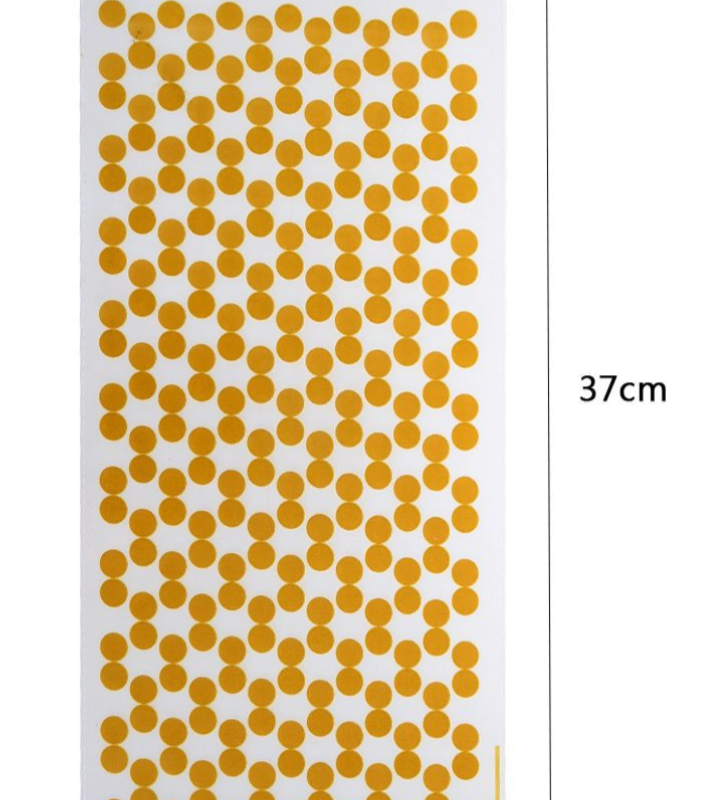12 Sacos Dourado de Bolinhas para Prenda