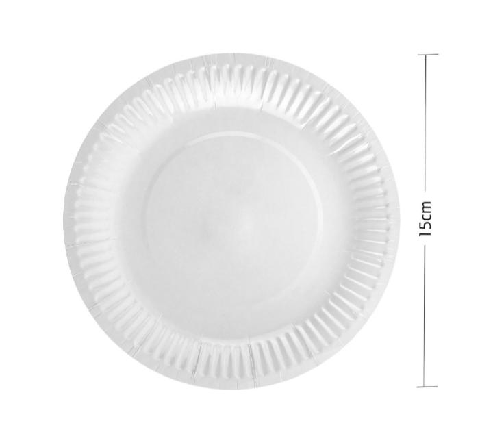 Pratos em Cartão Biodegradável 25 unidades