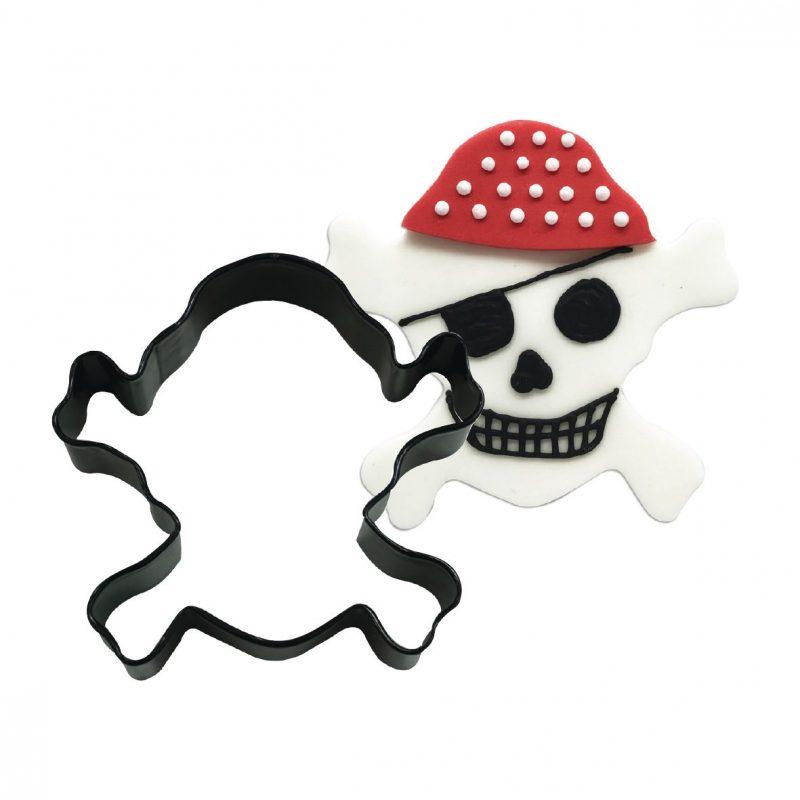 Cortante para Bolacha Caveira Pirata
